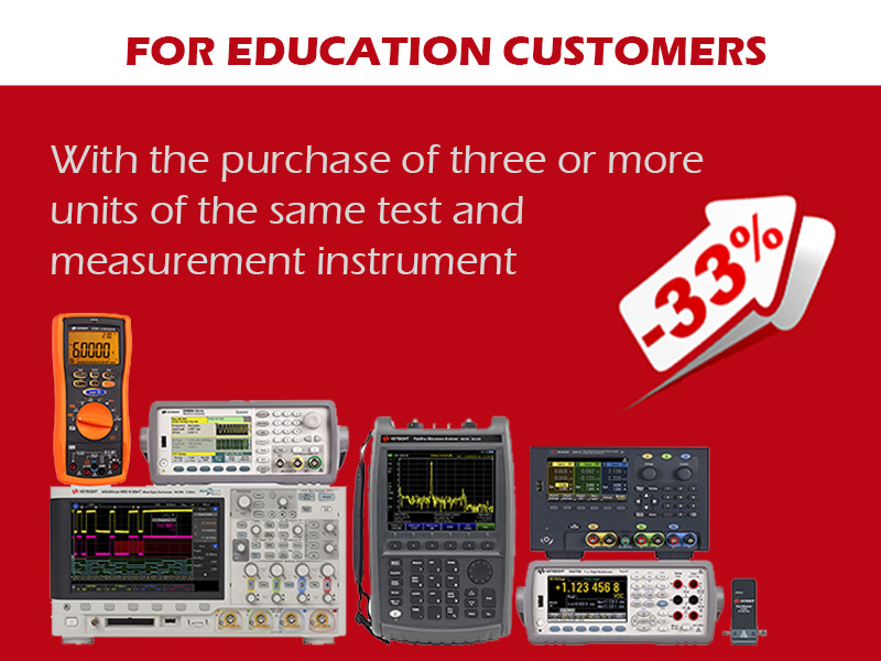 """Promotion for education Keysight Technology"""