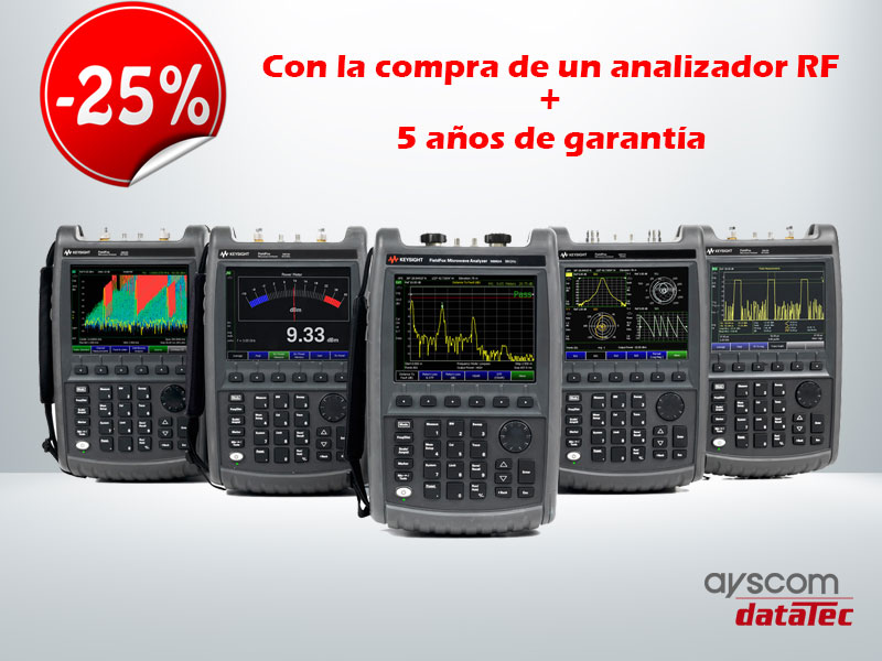 """Promoción FieldFox Keysight Technologies"""