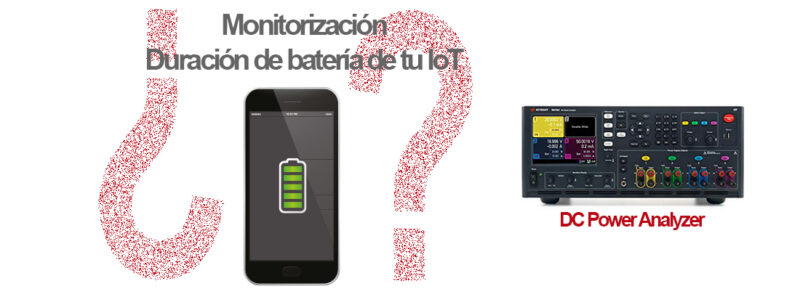 DC Power Analyzer solución IoT
