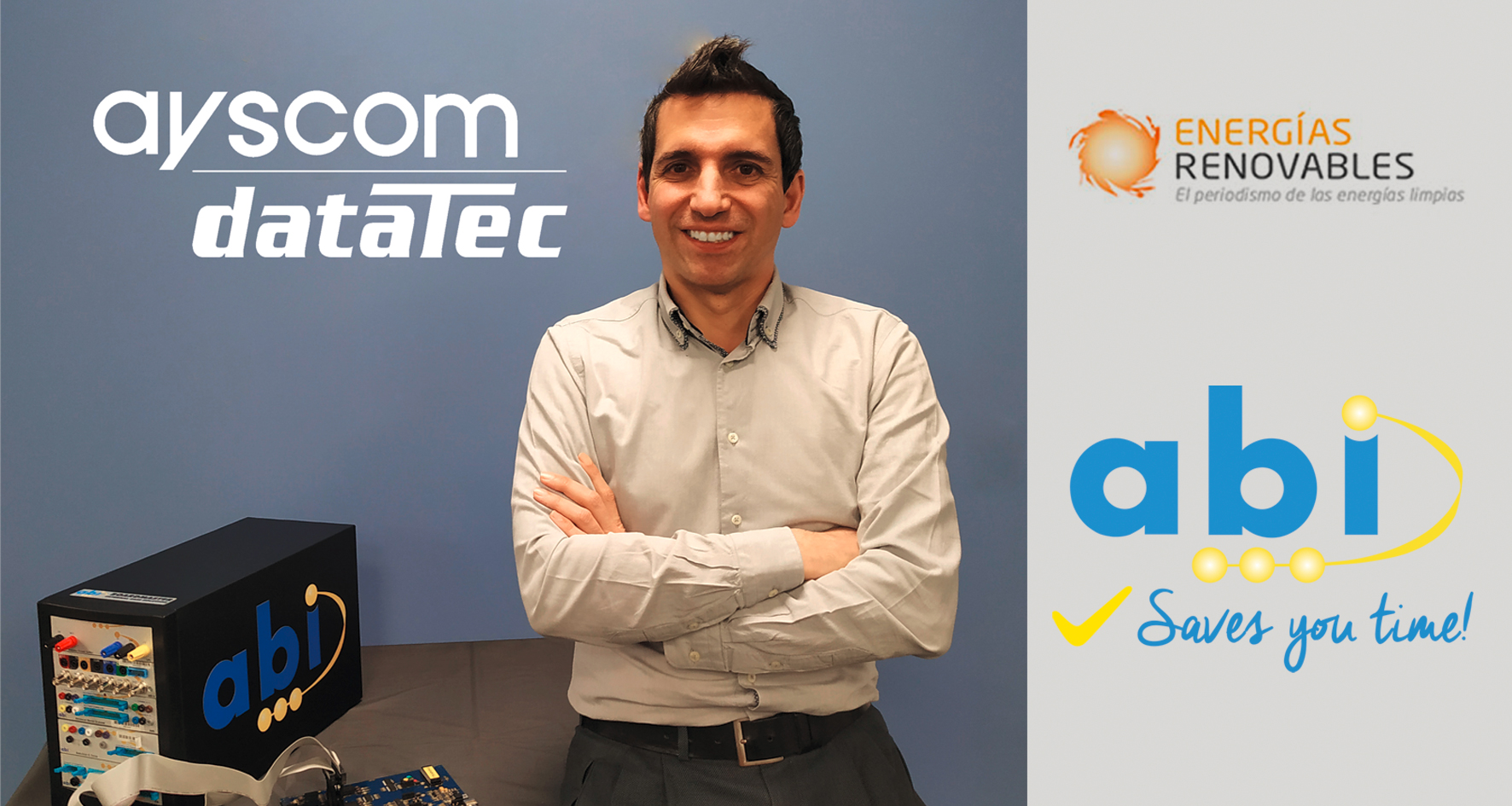 The magazine 'Renewable Energies' interviews Julián Moreno, head of Business Development and Energy at Ayscom dataTec