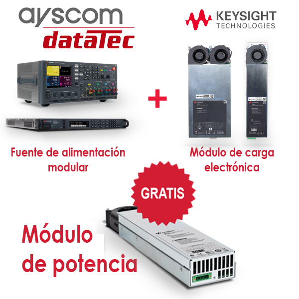 Promocion Power UP-modulo de potencia N6745B-datatec-ayscom