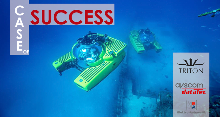 Case of Success: Supply of power supplies for high performance batteries in submarines.