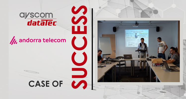 Success case: Interference localization in telecommunication environments
